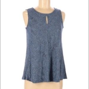 Cupio Blush tank with open back SIZE S